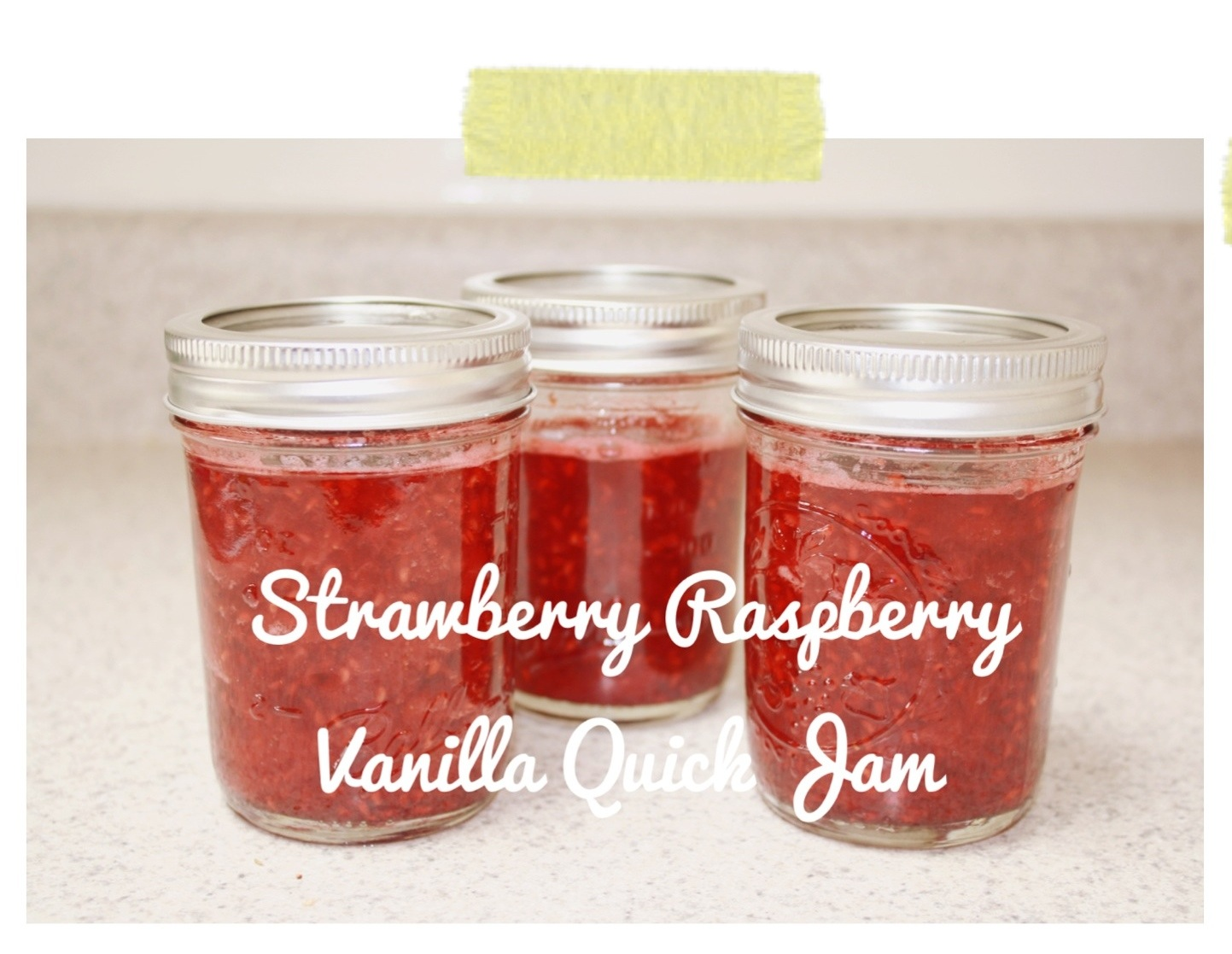 Strawberry Raspberry Vanilla Quick Jam | I Decided to Make a Circus ...